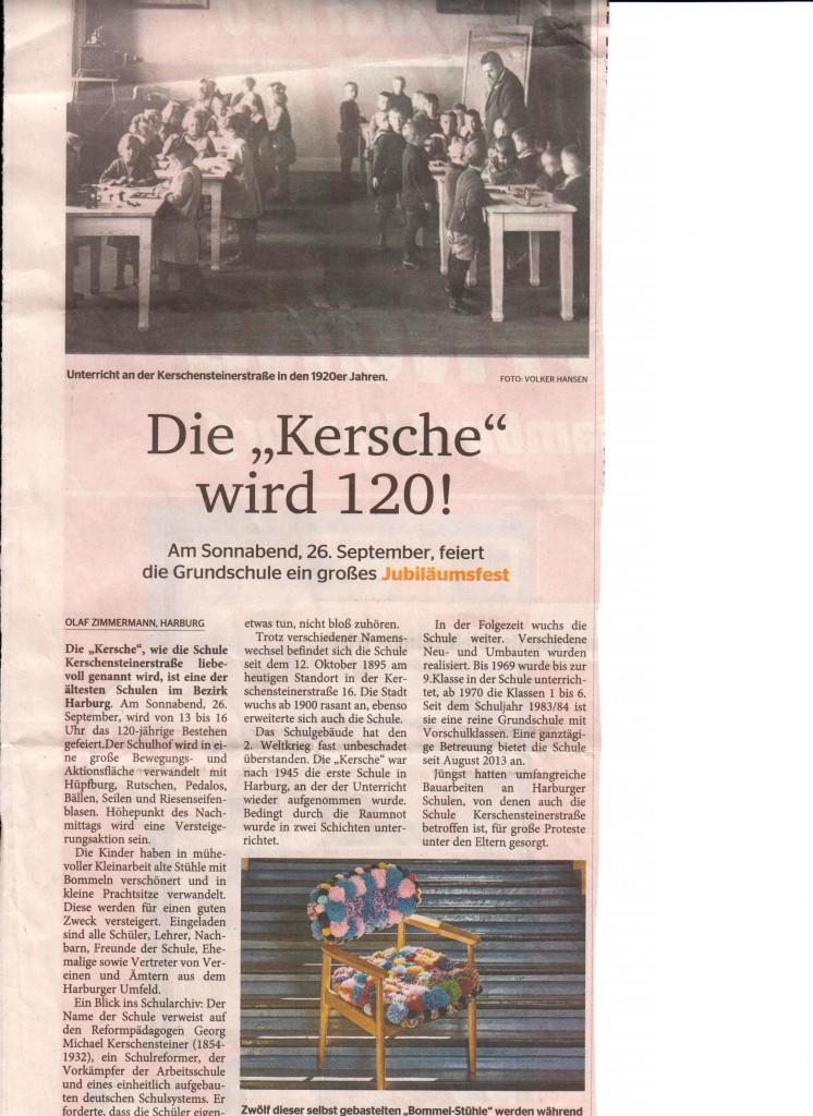 Kersche 120 Jahrfeier-Elbe Wochenblatt Sep 2015 unten