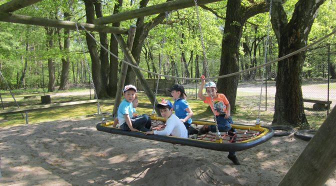 Klassenfahrt der Vorschulklassen in die Freiluftschule Neugraben