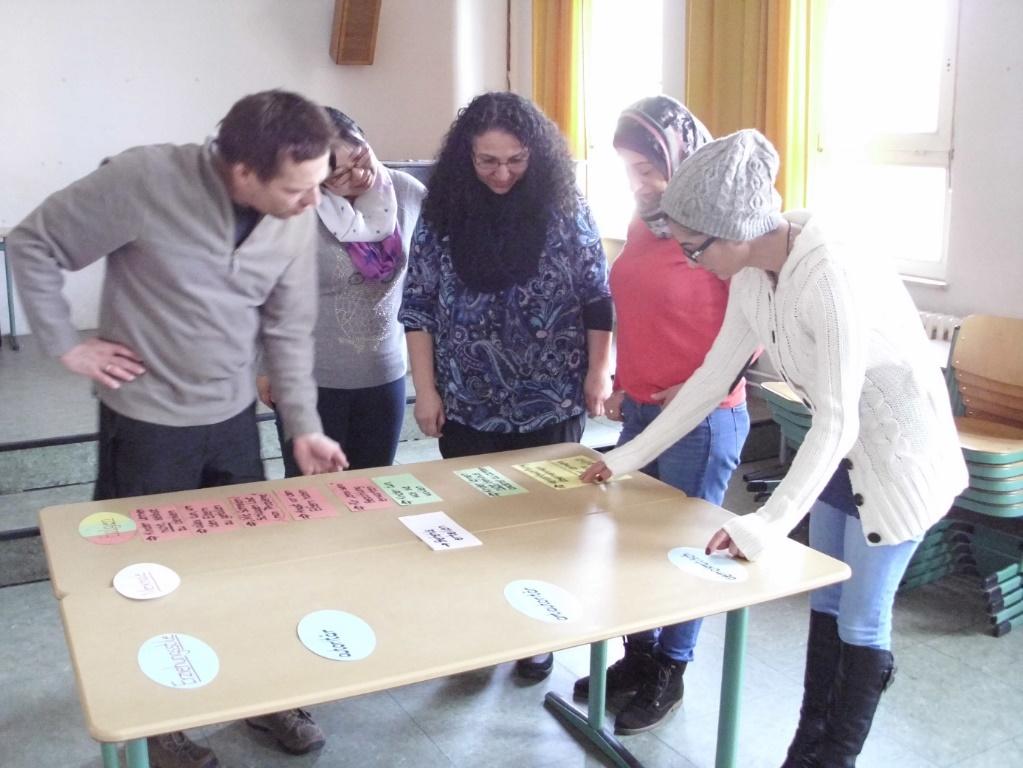 Teilnehmer unseres Kurses aus dem letzten Schuljahr