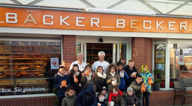 LearningKids bei Bäcker Becker in Harburg