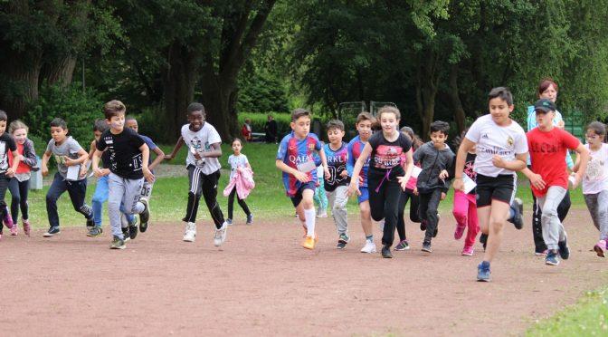 Sportfest und Spendenlauf