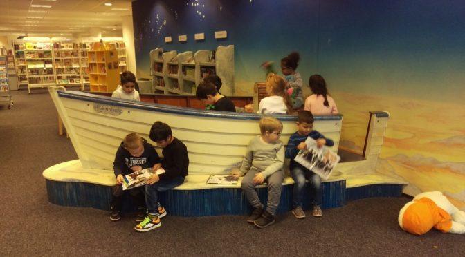 Ausflug der Klassen 1a und IVK 3/4 zur Harburger Bücherhalle