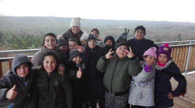 Ausflug der Klassen 1a und der IVK 3/4  zum Wildpark Schwarze Berge