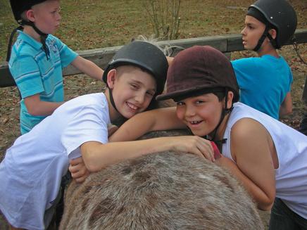 Klassenfahrt auf den Ponyhof