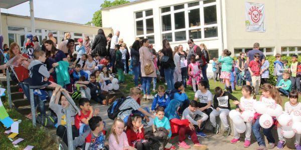 Presseartikel in Harburg-aktuell: Eine Schule zieht um
