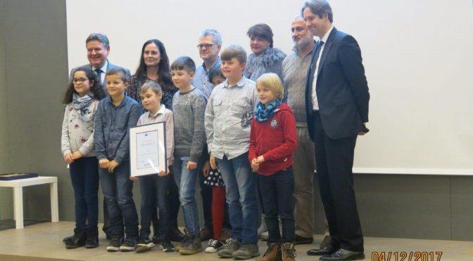 """""""Beste Ganztagsschule"""" der Hamburger Wirtschaft 2017"""